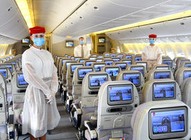 In pictures: Dubai's Emirates airline is stepping up Covid-19 safety measures