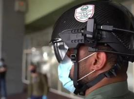 Video: Dubai Police are using thermal-imaging 'smart helmets' to detect Covid-19