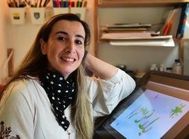 Hollywood artist tutors Arabic-speaking kids during pandemic