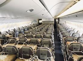 Emirates SkyCargo begins loading cargo in passenger cabins
