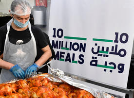 In pictures: Over 4 million food distributed as part of '10 Million Meals' initiative