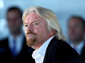 Branson sold $41m of Virgin Galactic shares last week