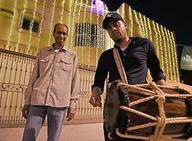 Bahrain's Ramadan drummer spreads viral Covid-19 message