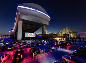 Dubai's new rooftop experience: drive-in cinema at Mall of the Emirates