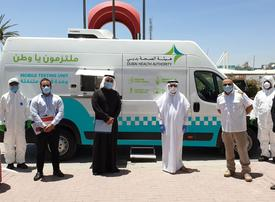 Dubai Health Authority launches mobile Covid-19 testing bus