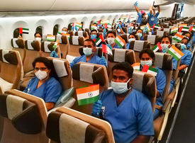 Medics arrive in UAE from India to help in Covid-19 battle