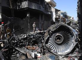 Pakistan jet grazed runway at 327kph without landing gear