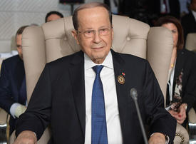Lebanese President to discuss security amid wave of protests