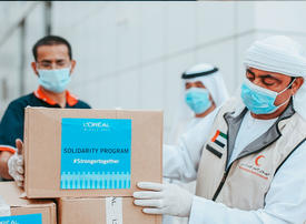 L'Oreal Middle East launches Covid-19 relief programme