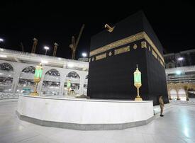 Muslims begin downsized hajj pilgrimage