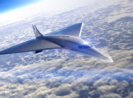 In pictures: Virgin Galactic unveils designs for Mach 3 supersonic passenger plane
