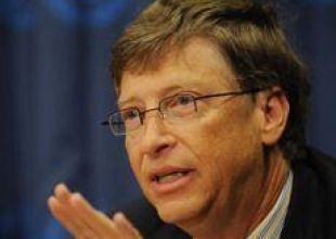 Bill Gates meets Sheikh Mohammed at charity event
