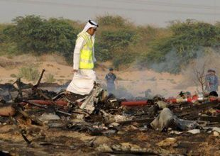 US team invited to probe Sharjah plane crash
