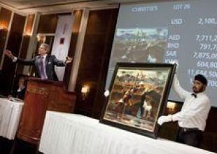Egyptian painting fetches over $2m at Christie's Dubai