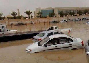 Streets flooded, power cut in Saudi city of Jeddah