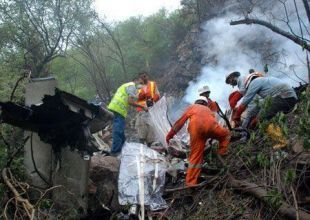 Airliner-crash fatalities rose 13% to 828 in 2010