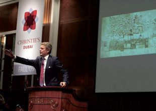 Christie's nets $14m in Middle East art auction