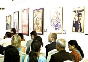 Giant pearl, oriental painting boost $17m Dubai auctions