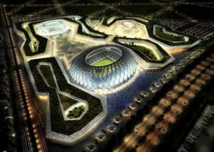 Qatar hires managers for first World Cup stadium