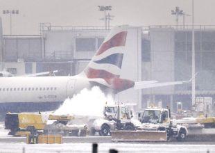 Failure of British Airways is snow joke