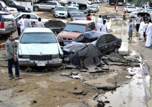 Dozens detained in Saudi Arabia over flood protests