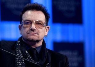 It's bonus (and Bono) as usual as Davos glitters