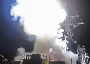 Western warplanes, missiles hit Libyan targets