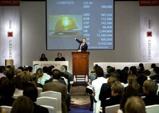 Christie's nets sales of $12m in twin Dubai auctions
