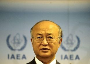 Head of UN nuclear watchdog says Iran showing commitment to deal