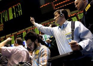 Brent slips on Greece jitters, high US oil stocks