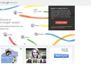 Google's new social networking site looks like Facebook