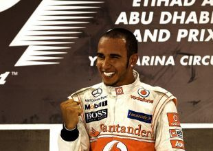 Hamilton on pole for Abu Dhabi F1 race