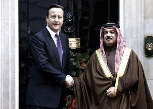 Bahrain king vows decade of reform after UK meet