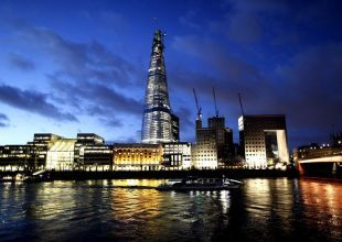 Laser show to mark opening of Qatar's Shard tower in London