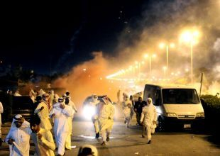 Kuwaiti forces accused over protest actions