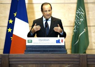 French president set to push Total's UAE bid