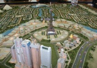 Falconcity's Egyptian pyramids 'yet to win planning approval'