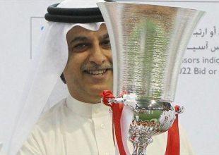 Asian football chief backs Qatar in World Cup row