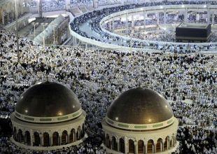 Pilgrims perform ritual devil stoning as haj draws to a close