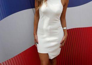 US singer Nicole Scherzinger appears at Dubai food festival