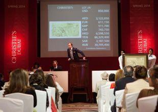 Christie's sells $10.6m in the Dubai art auction