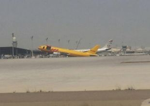 """Plane suffers """"nose up"""" at Abu Dhabi airport"""
