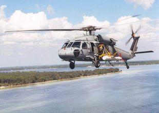 US Navy helicopter crashes on Kuwait training mission