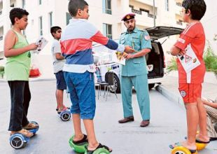 Abu Dhabi Police issues 'hover boards' warning after child road death