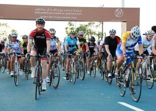 New $9.5bn Dubai community opens cycling, running track