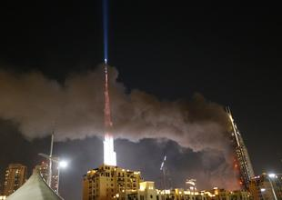 Emaar to recover $332m for New Year's Eve hotel fire insurance claim