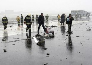 Russian TV broadcasts final words of Flydubai pilots before crash