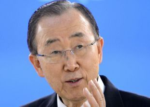 UN chief urges all countries to show solidarity with Syrian refugees