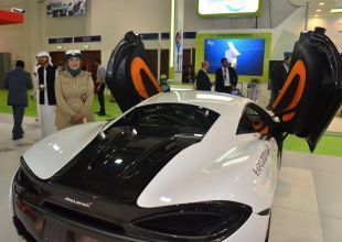 Dubai adds $175k McLaren S570 supercar to police fleet