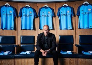 Manchester City boss Pep Guardiola discusses first Premier League season in Abu Dhabi